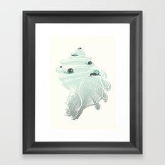 Race for the Prize Framed Art Print