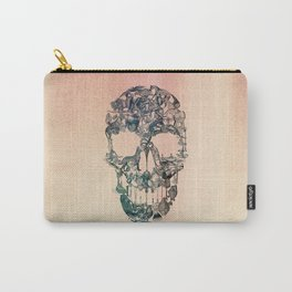 Skull Vintage Carry-All Pouch