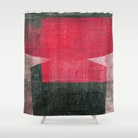 gemini Shower Curtains featuring Gemini by Fernando Vieira