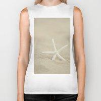 starfish Biker Tanks featuring Starfish  by Laura Ruth