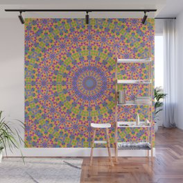 Orbit Mandala Wall Mural
