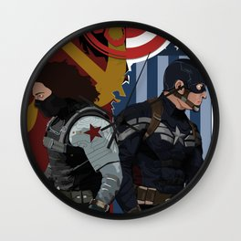 Winter Soldier Wall Clock