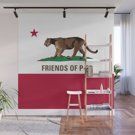 Friends of P-22 Wall Mural