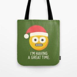 White Knuckle Christmas Tote Bag