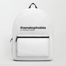thanatophobia Backpack