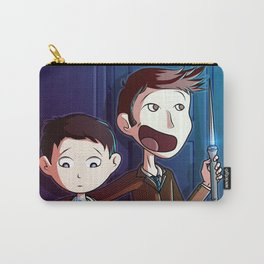 Castiel and The Doctor  Carry-All Pouch