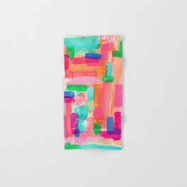 Acrylic Painting Modern Abstract Pattern - Welcome To My Fantasy Hand & Bath Towel