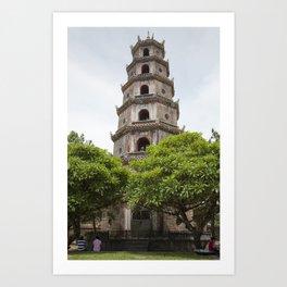 Thien Mu Pagoda Art Print