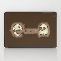 pac man iPad Cases featuring Dead Pac-Man by Adel