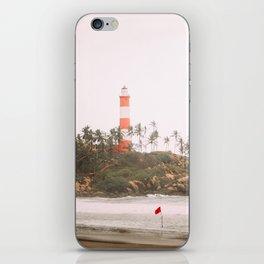Lighthouse in Varkala iPhone Skin