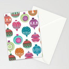 Christmas Pattern 01 Stationery Cards