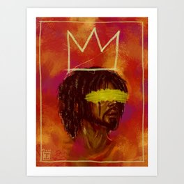 Cole World x Basquiat Art Print