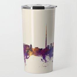 Dublin Ireland Skyline Travel Mug