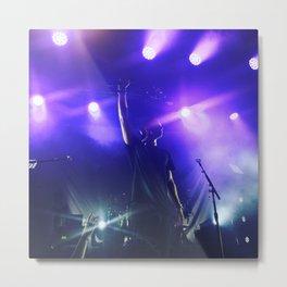 Stage Lights Metal Print