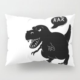 Cute T-Rex Raw Pillow Sham