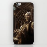 thranduil iPhone & iPod Skins featuring Thranduil by SUIamena