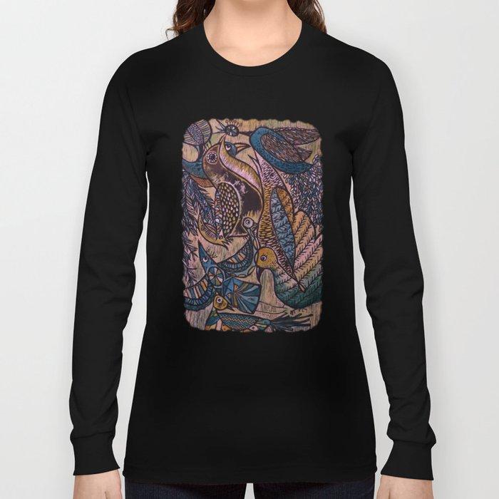 Birds (2) Long Sleeve T-shirt