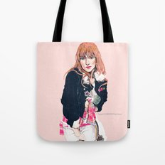 Oliva Wilde Tote Bag