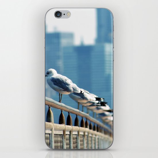 stand in a row... iPhone & iPod Skin
