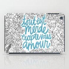 Excepte Vous Amour iPad Case