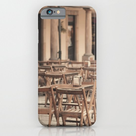 Tables and chairs iPhone & iPod Case