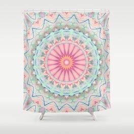 Mandala pastel no. 5 Shower Curtain