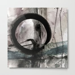 Enso Of Zen No.4M by Kathy Morton Stanion Metal Print