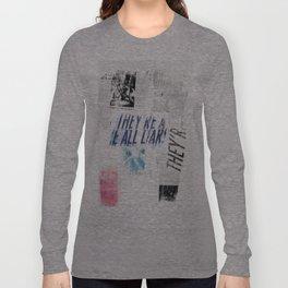 LIARS Long Sleeve T-shirt