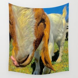 Kush the Goat Wall Tapestry