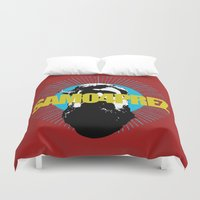 logo Duvet Covers featuring Logo by SAMO4PREZ