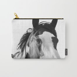 Paint Horse | Modern Horse Art Carry-All Pouch
