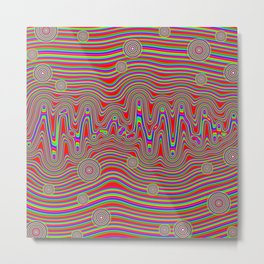 Another Psychedelic Expression Metal Print