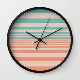 Pale Horizon Wall Clock