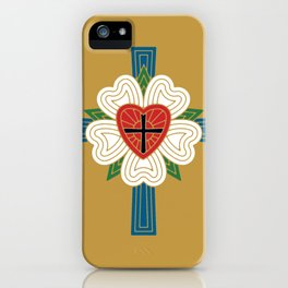 Luther's Rose iPhone Case