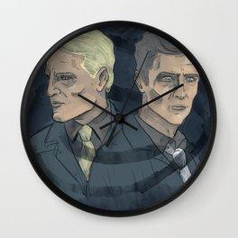 Rust & Marty Wall Clock