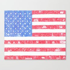 The America Canvas Print