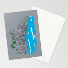 Presidents on a Mountain Stationery Cards
