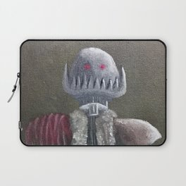 Never Bring a Knife to a Robot Fight Laptop Sleeve