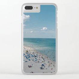 Miami Life Clear iPhone Case