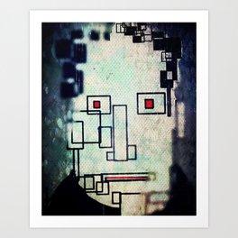 Millenial Guy / Chico del Siglo Art Print
