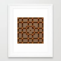 classy Framed Art Prints featuring Classy by Lyle Hatch