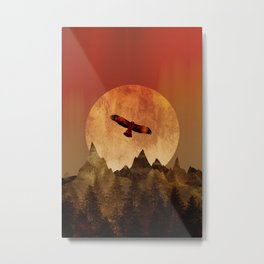 Eagle mountains Metal Print