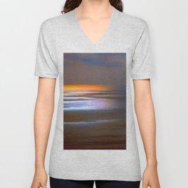 Sunset Glow Unisex V-Neck