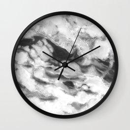 Ash Marble Wall Clock