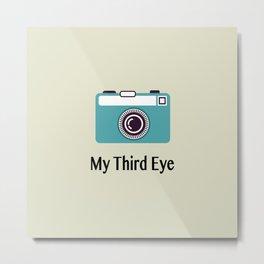My third eye Metal Print