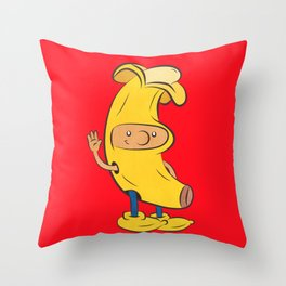 Banana Arnold Throw Pillow
