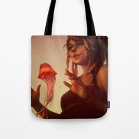 loish Tote Bags featuring Evening Glow by loish