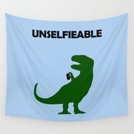Unselfieable T-Rex Wall Tapestry