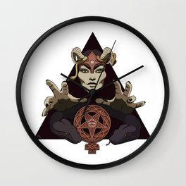 EVIL FEMINIST CULT OF FEMINISM AND EVIL Wall Clock