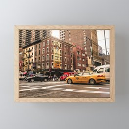 ArtWork New York City USA Art work photo Framed Mini Art Print